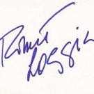 Robert Loggia Autographed Index Card