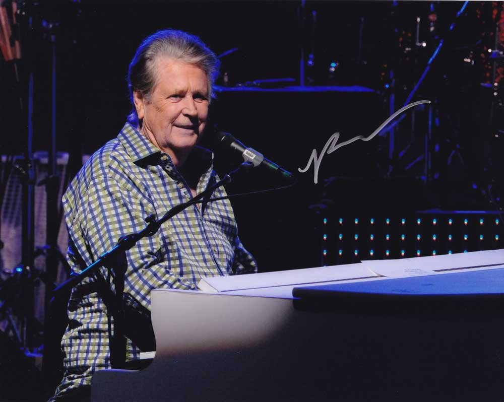 Brian Wilson in-person autographed photo Beach Boys