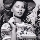Sophia Loren in-person autographed photo