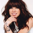 Carly Rae Jepsen in-person autographed photo