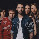 Maroon 5 In-person Autographed Group Photo