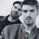 The Chainsmokers in-person autographed group photo