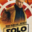 Woody Harrelson in-person autographed photo Solo