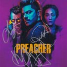 Preacher In-person autographed Cast Photo by 3