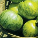 Organic Heirloom Green Zebra Tomato 50+ Seeds