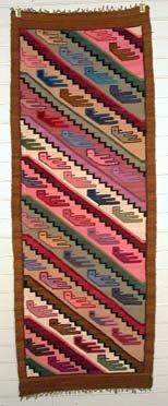 Tapestry Alpaca Wool  Birds Made in Peru