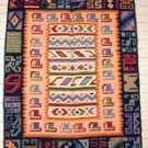 Tapestry  Alpaca Wool Tapestry  Cat Symbols and Faces Made in Peru
