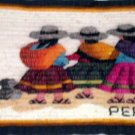 Tapestry  Three Woman Walking Made in Peru