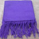 Scarf  Alpaca Scarf Bright Purple