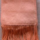 Scarf  Alpaca Scarf Peachy Pink Made in Peru