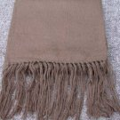 Scarf  Alpaca Scarf Heather Gray Hypo-Allergenic Made in Peru