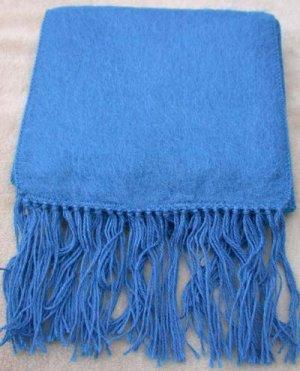 Scarf  Alpaca Scarf Bright Blue