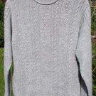 Alpaca Sweater Womens Alpaca Sweater Medium Gray Small