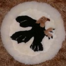 Eagle Alpaca Fur Rug/Wallhanging