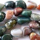 Fancy Jasper Nugget Beads (GS149)