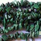 "Malachite Chip Beads - 36"" strand (GS1212)"