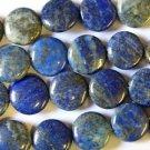 Lapis Lazuli Round Tabular Beads 15mm (GS1181)