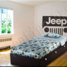 "Jeep ""Headboard"" Wall Art Vinyl Decal Sticker Décor"