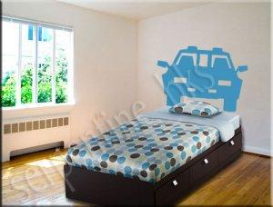SUV �Headboard� Wall Art Vinyl Decal Sticker Décor