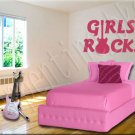 Girls Rock B Vinyl Wall Art Décor Decal Stickers Guitar