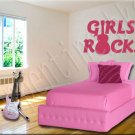 Girls Rock C Vinyl Wall Art Décor Decal Stickers Guitar