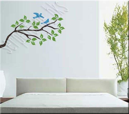 Tree Branch w/ Birds Wall Art Décor Vinyl Decal Sticker