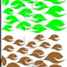 Leaves Leaf Wall Décor Decal Sticker Wall Art Vinyl