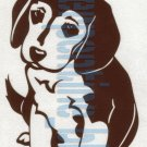 Beagle Puppy Dog Car Vinyl Window Bumper Decal Sticker