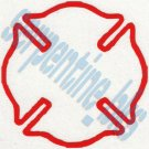 Fire Dept Logo Car Vinyl Window Bumper Decal Sticker