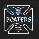 WEST COAST BOATERS Window Bumper Decal Sticker