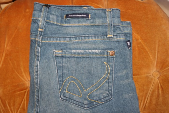 Rock and Republic Womens Roth Jeans Size 26 x 31
