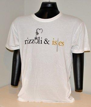 TNT Rizzoli & Isles show men's white promo tshirt  Large L