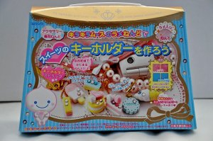 Mousse Chan Fuwa Fuwa paper clay cell phone keychain maker