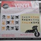 Hip in a Hurry Vinyl Wall Decal art stickers - Multi Skulls boys room