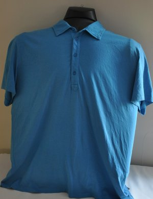 AIX Armani Exchange Men's polo tshirt blue XXL