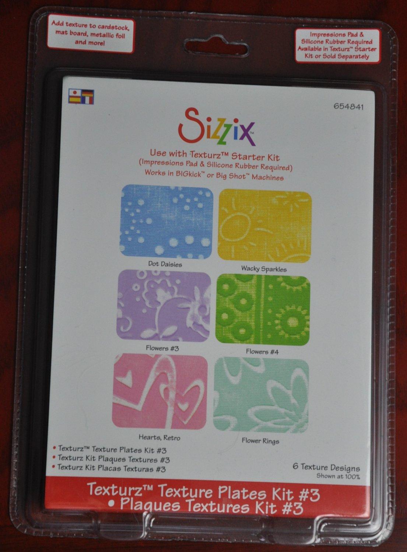 Sizzix Texturz Plates Kit #3 654841