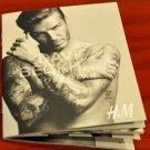 H&M David Beckham model for bodywear pocket sized booklet