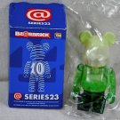 Be@rbrick S23 jellybean green cream soda jelly Bearbrick Mediacom Series 23 bear brick