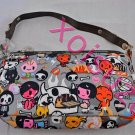 NEW Lesportsac for Tokidoki Dolce small hand bag inferno print devil adios