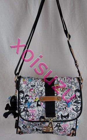 NEW Tokidoki Marina shoulder messenger hand bag purse in Portafortuna print