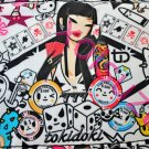 NEW Tokidoki Ragazza small hand bag purse Portafortuna black white