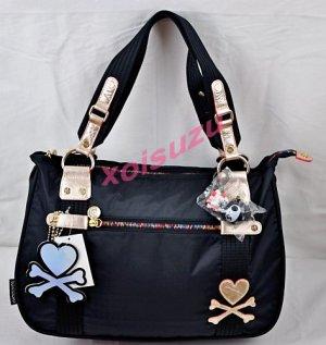 NEW Tokidoki Carezza Mezzanottte black zucca shoulder bag purse