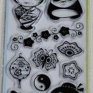 inkadinkado asian characters 10 clear stamps 99556