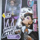 Monster High doll Ghouls Alive Clawdeen Wolf howling