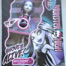 Monster High doll Ghouls Alive Spectra Vondergeist light up blue glow