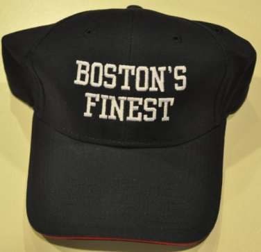 TNT Boston's Finest Police series baseball cap hat navy Donnie Walhberg promo