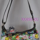 NEW Tokidoki Sorriso hand bag purse Eco Mondo print green recycle