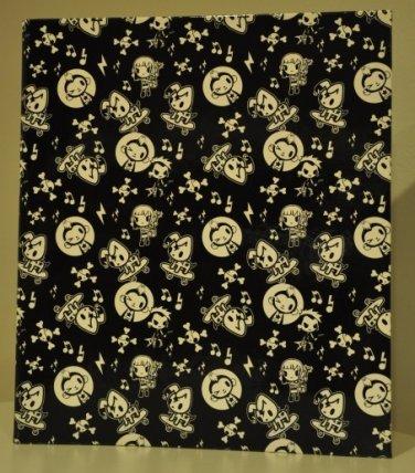 """Simone Legno for Target 1"""" binder tokidoki black"""