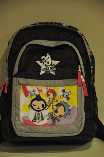 Simone Legno for Target Black Backpack Bag monkey tokidoki