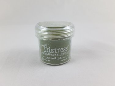 Tim Holtz Distress Embossing Powder - Peeled Paint 1 oz TIM21148 green